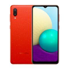 Samsung A022F Galaxy A02 32GB 2GB RAM DualSIM, Mobiltelefon, piros