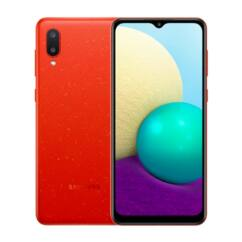 Samsung A022F Galaxy A02 32GB 3GB RAM DualSIM, Mobiltelefon, piros
