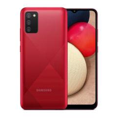 Samsung A025F Galaxy A02S 32GB 3GB RAM DualSIM, Mobiltelefon, piros