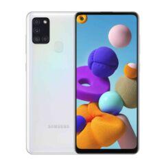 Samsung A217F Galaxy A21S 32GB 3GB RAM DualSIM, Mobiltelefon, fehér