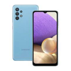 Samsung A325F Galaxy A32 128GB 6GB RAM DualSIM, Mobiltelefon, kék