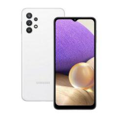 Samsung A325F Galaxy A32 128GB 4GB RAM DualSIM, Mobiltelefon, fehér