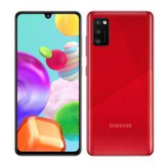 Samsung A415 Galaxy A41 64GB 4GB RAM DualSIM, Mobiltelefon, piros