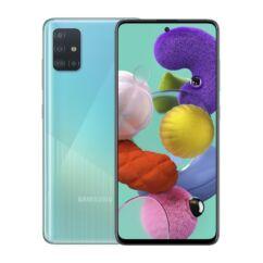 Samsung A515 Galaxy A51 128GB 6GB RAM DualSIM, Mobiltelefon, kék
