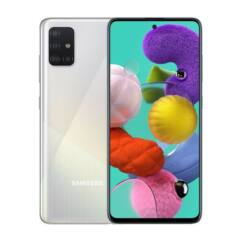 Samsung A515 Galaxy A51 128GB 6GB RAM DualSIM, Mobiltelefon, fehér