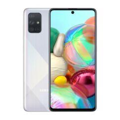 Samsung A715 Galaxy A71 128GB 8GB RAM DualSIM, Mobiltelefon, ezüst