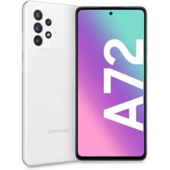 Samsung A725F Galaxy A72 128GB 6GB RAM DualSIM, Mobiltelefon, fehér