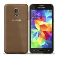 Samsung G800H Galaxy S5 Mini 16GB DualSIM, Mobiltelefon, arany