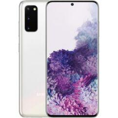 Samsung G980F Galaxy S20 4G 128GB 8GB RAM DualSIM, Mobiltelefon, fehér