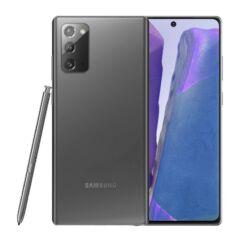 Samsung N980F Galaxy Note 20 LTE 256GB 8GB RAM DualSIM, Mobiltelefon, szürke