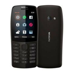 Nokia 210 DualSIM, Mobiltelefon, fekete