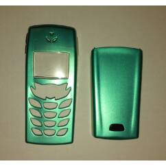 Nokia 6510 elő+akkuf, Előlap, zöld