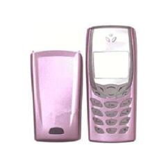 Nokia 6510 elő+akkuf, Előlap, világos lila