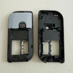 Nokia 6670/7610, Középső keret