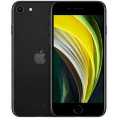 Apple iPhone SE 2020 64GB 3GB RAM, Mobiltelefon, fekete