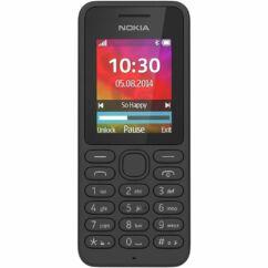 Mobiltelefon, Nokia 130 DualSIM + Domino fix (500MB, 40 perc lebeszélhetőség), Kártyafüggetlen, 1 év garancia, fekete