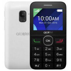 Mobiltelefon, Alcatel OT-2008, fekete-ezüst