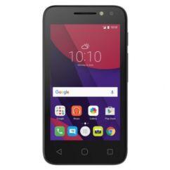 Mobiltelefon, Alcatel OT-4034X Pixi4, fekete