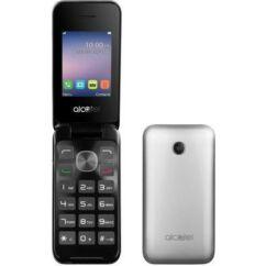 Mobiltelefon, Alcatel OT-2051X, ezüst
