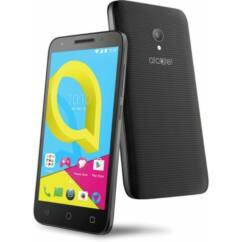 Mobiltelefon, Alcatel OT4047D U5 DualSIM, fekete-szürke