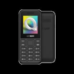 Alcatel OT-1066G +Domino Fix Kártyával, Mobiltelefon, fekete