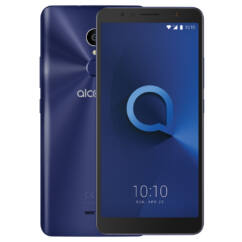 Alcatel OT-5033D 1 (One) DualSIM, (Kártyafüggetlen 1 év garancia +Domino Fix Kártyával), Mobiltelefon, kék