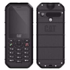 Caterpillar B26 DualSIM, Mobiltelefon, fekete