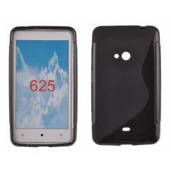 Szilikon tok, Nokia Lumia  625, S-Case - fekete