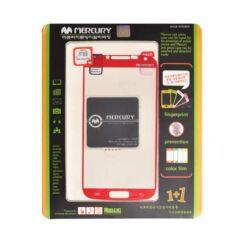 Kijelzővédő fólia, Samsung i9500 Galaxy S4 (piros)