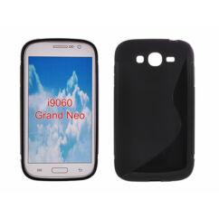Samsung i9060/i9080 Grand Neo, Szilikon tok, S-Case, fekete
