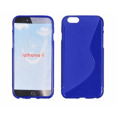 Szilikon tok, Apple iPhone 6, 6S, S-Case - kék