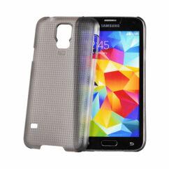 Hátlap tok, Samsung G900 Galaxy S5, füst - Vennus*