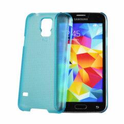 Hátlap tok, Samsung G900 Galaxy S5, kék - Vennus*