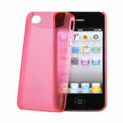 Apple iPhone 4, Hátlap tok, rózsaszín - Vennus