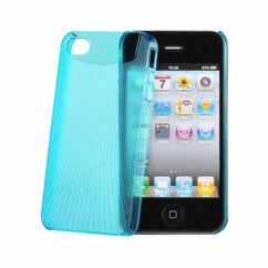 Apple iPhone 4, Hátlap tok, kék - Vennus