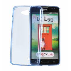 Samsung G925 Galaxy S6 Edge, Szilikon tok, Ultra Slim, kék
