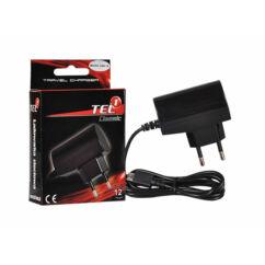 Hálózati töltő, mini USB 1A