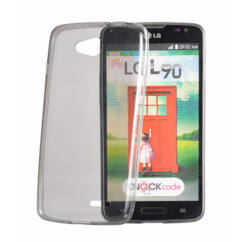 Samsung G388 Galaxy Xcover 3, Szilikon tok, Ultra Slim, füst