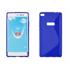 Huawei P8, Szilikon tok, S-Case, kék