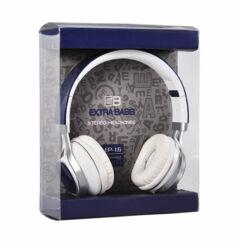 Fejhallgató, Extra Bass (EP-16), kék
