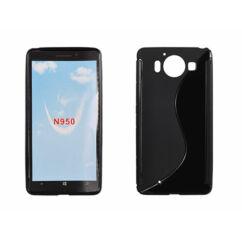 Microsoft Lumia  950, Szilikon tok, S-Case, fekete