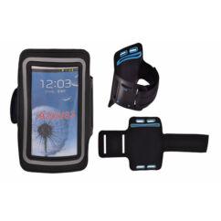 Karpántos tok, Samsung N9000 Note 2, 3, fekete