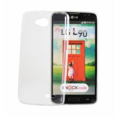 LG K4 K130, Szilikon tok, Ultra Slim, átlátszó
