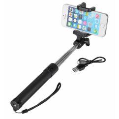 Selfie bot, Bluetooth exponálóval, fekete