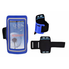 Karpántos tok, Samsung i9300, i9500, fekete-kék