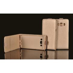 Huawei Y3-2 2016, Lefele nyíló flip tok, arany
