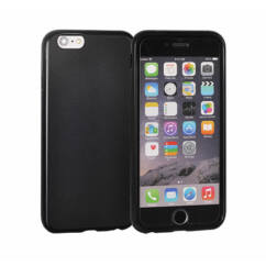 Apple iPhone 5/5S/SE/6C, Szilikon tok, Matt, fekete