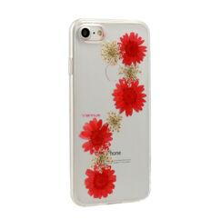 Szilikon tok, Huawei Y7 Prime 2018, Real Flower, Flora