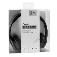Gjby Bluetooth CA-011, Fejhallgató, fekete