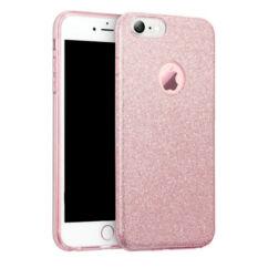 Szilikon tok, Huawei Mate 20 Pro, Shining (Csillámos) - rózsaszín